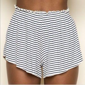 Brandy Melville Striped Ross Shorts
